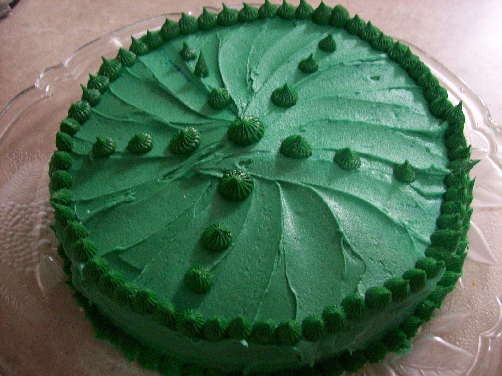 Birthday cake for Jesus, made by April Garwood of Banana Moon Studio