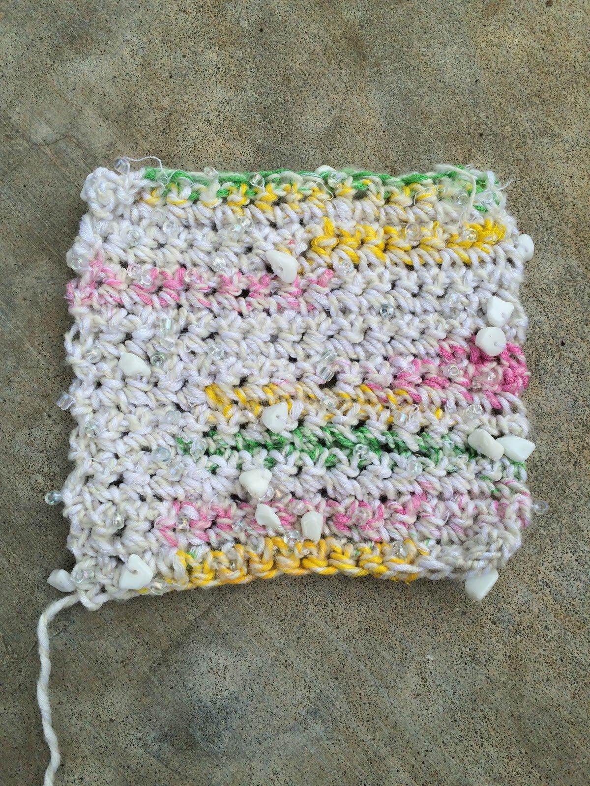 yarn reviews crochet, knitting yarn reviews, review of Mango Moon Chakra by April Garwood of Banana Moon Studio