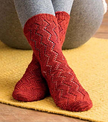 Review of Custom Socks by Kate Atherley. Review by April Garwood of Banana Moon Studio