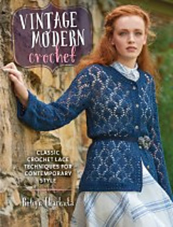 Make beautiful modern crochet pieces inspired by vintage techniques! See my review of Vintage Modern Crochet here.