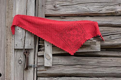Shifting Shawl Crochet Pattern by April Garwood of Banana Moon Studio