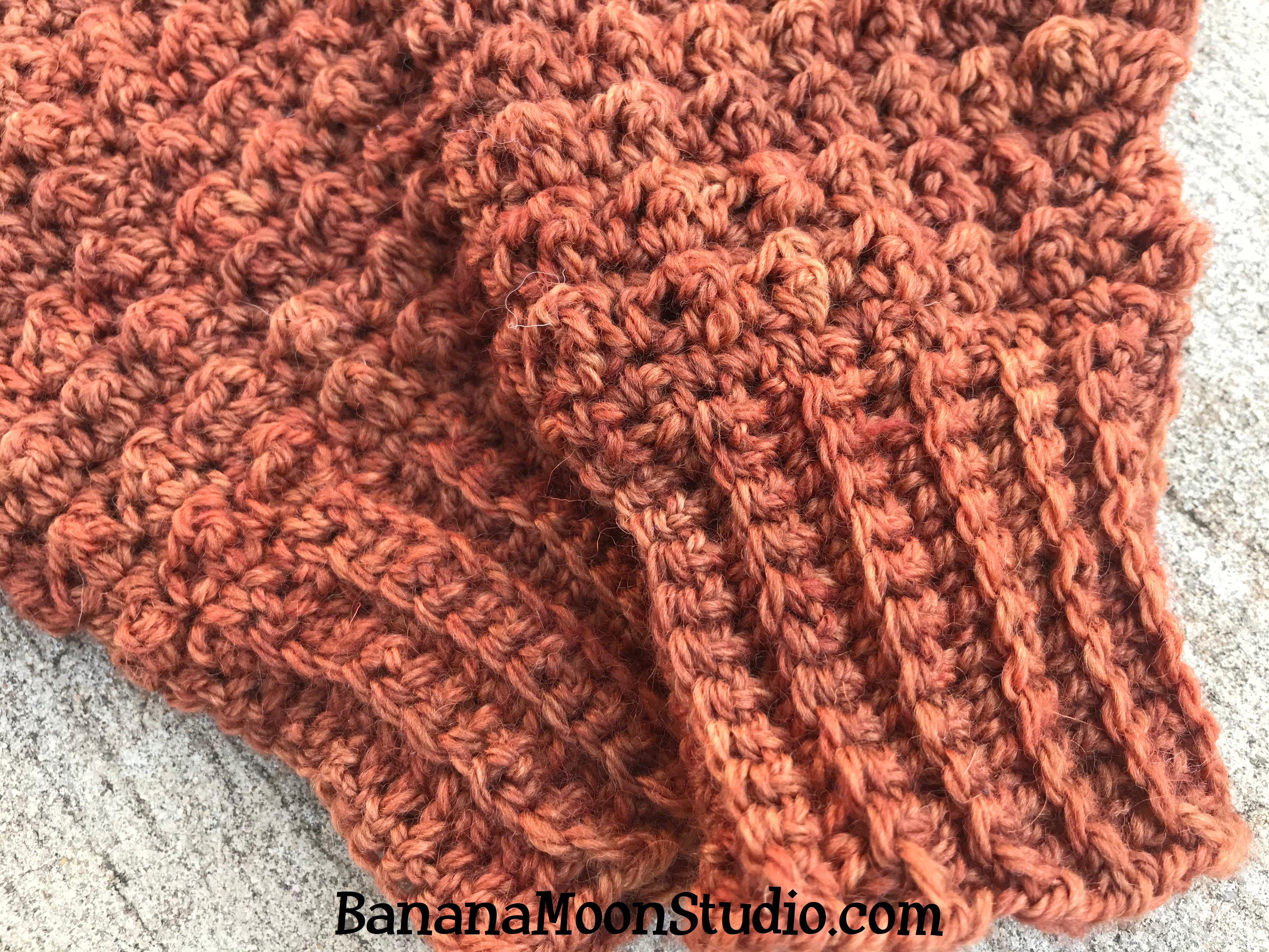 Free Crochet Mitten Pattern from Banana Moon Studio