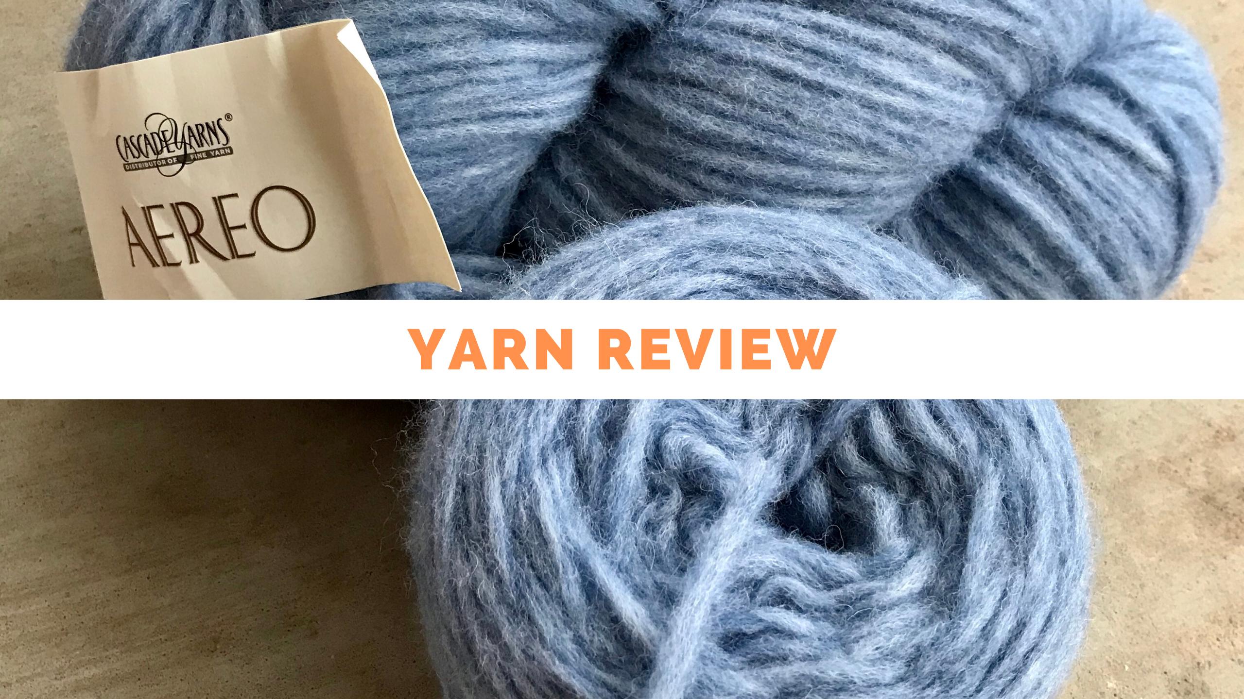 Yarn Review of Cascade Aereo. Review from Banana Moon Studio