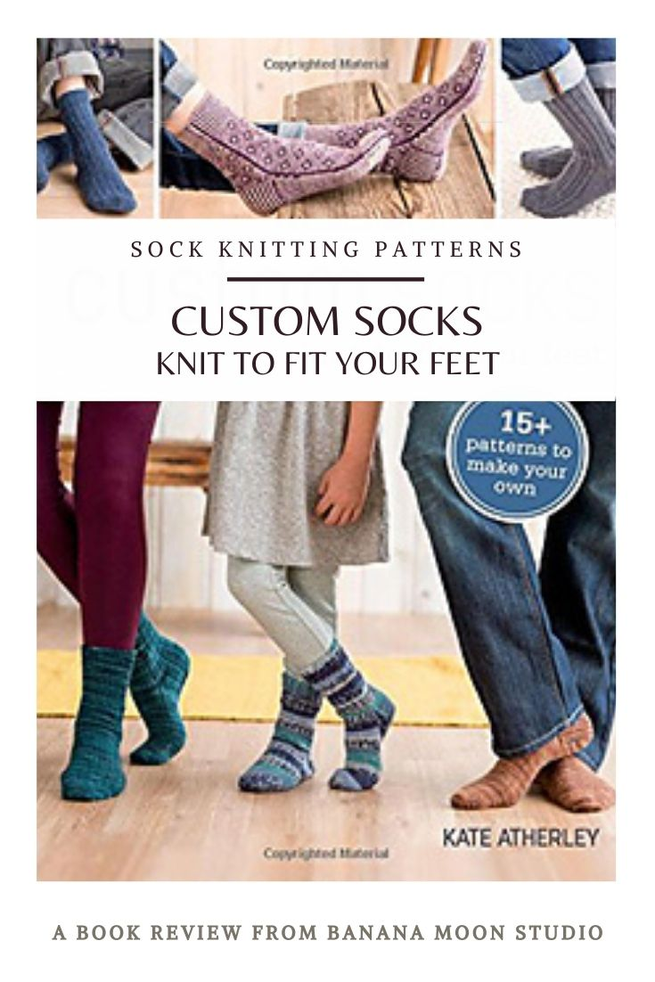 See my review of Custom Socks by Kate Atherley. One of the best sock knitting books available! Review from Banana Moon Studio.