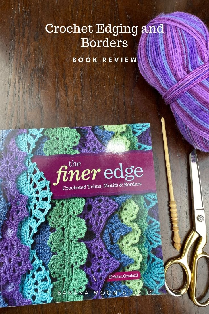 See my review of The Finer Edge by Kristin Omdahl! This book is full of beautiful crochet edgings with clear written and symbol chart instructions!