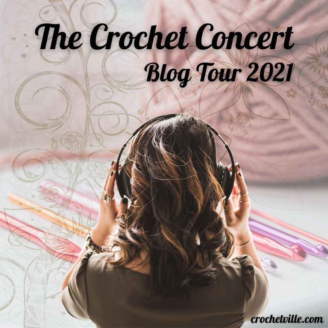 March is National Crochet Month, or NatCroMo! Join me and Crochetville for the 2021 NatCroMo Blog Tour!