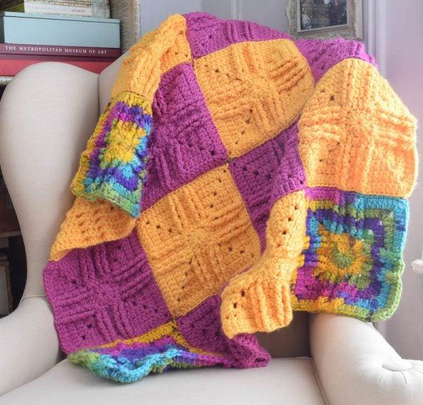 Sweet Treat Baby Blanket from Underground Crafter.