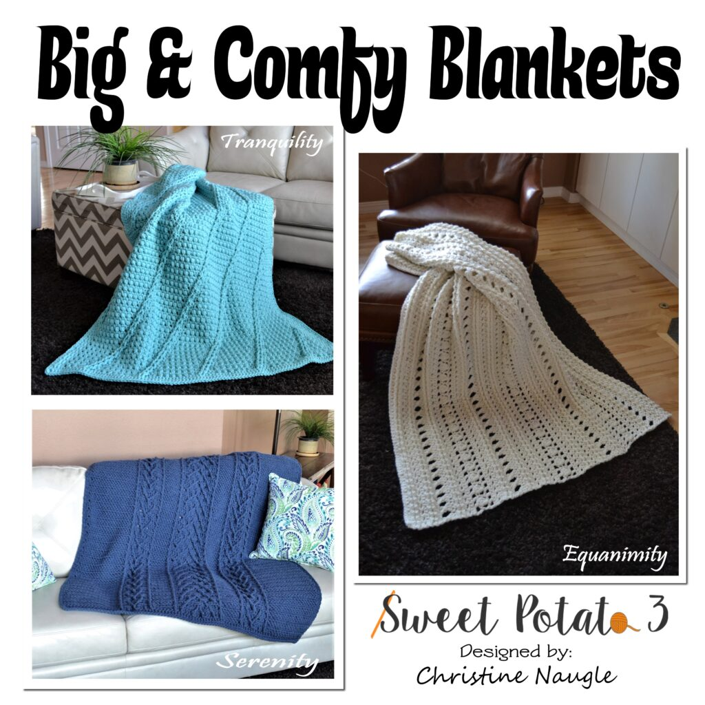 Big and Comfy Blanket Collection from Sweet Potato 3.