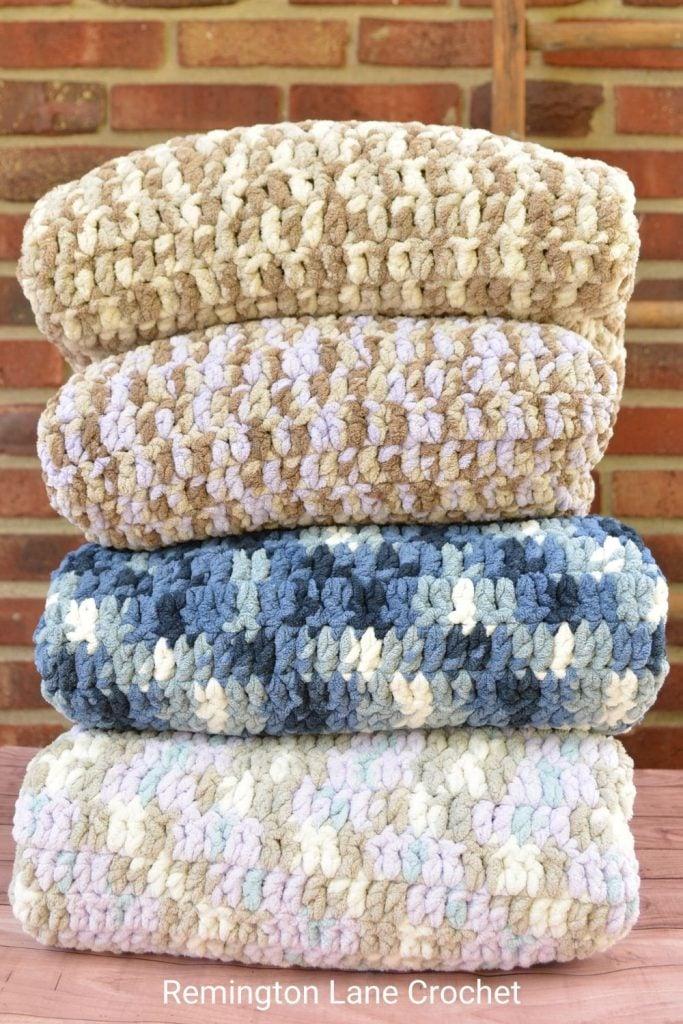 Lisa Blanket from Remington Lane Crochet.