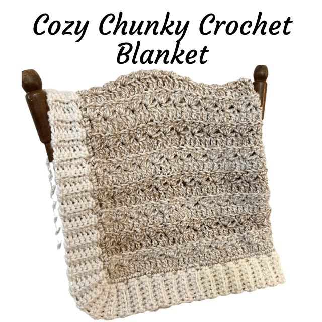 Keep me cozy blanket from simply hooked by Janet.