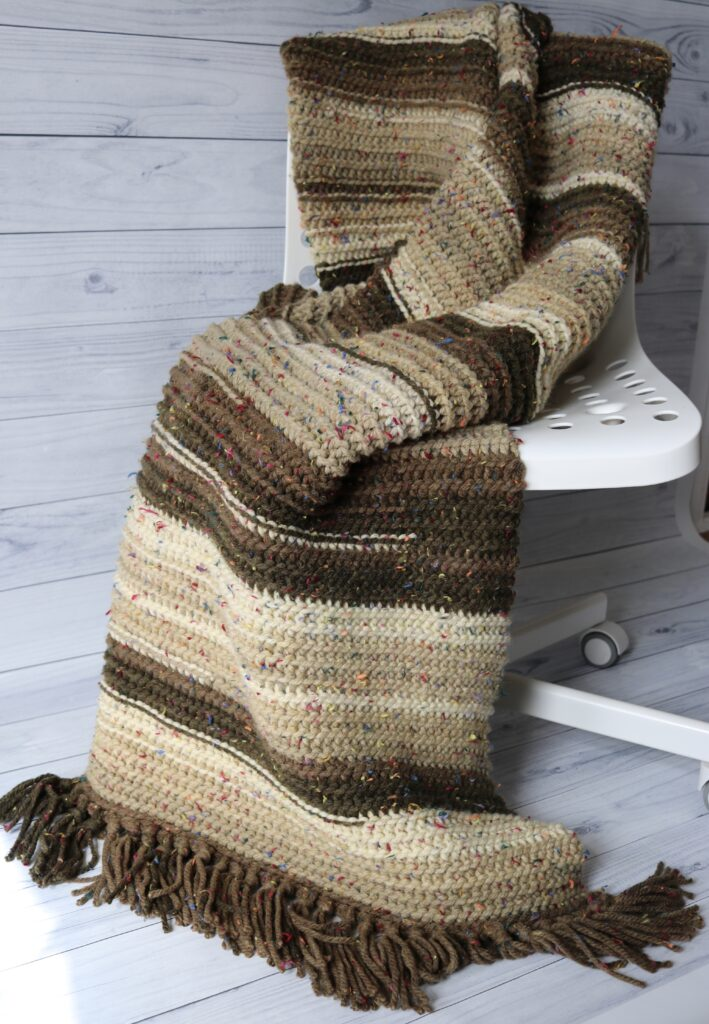 Sandstone Throw from Rich Textures Crochet.