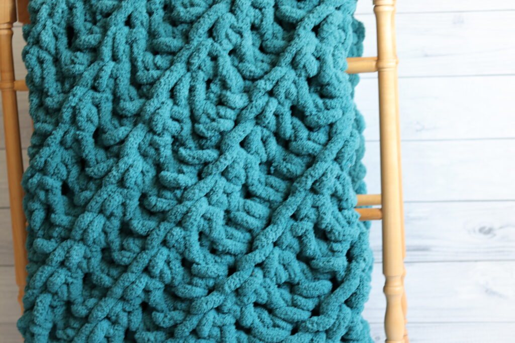 Two Hour C2C Crochet Blanket from Rich Textures Crochet.