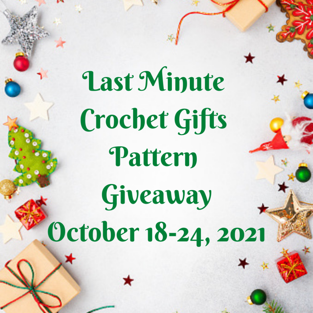 Last Minute Crochet Gifts Pattern Giveaway and Round-up